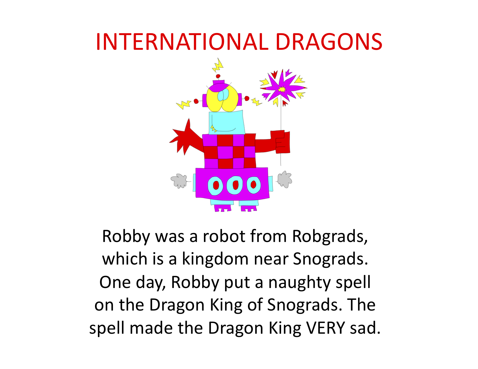 International Dragons (dragged)